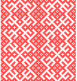 seamless traditional russian ornament vector image vector image