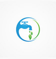 simple plumbing service vector image