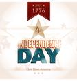 USA Indenpendence Day background vector image vector image