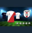 football logos vector image