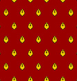Royal seamless pattern for mantle for King vector image
