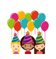 birthday party desig vector image vector image