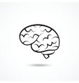Brain icon vector image vector image