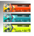 Business Banner Web design vector image vector image
