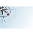 compass southeast background vector image vector image