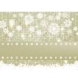 elegant christmas snowflakes vector image