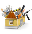 House Toolbox vector image vector image
