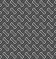Monochrome pattern with gray and black rectangles vector image