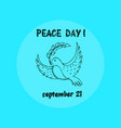 Peace day september 21 on
