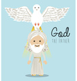 Religious design vector image vector image