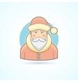 Santa Claus Jack Frost icon vector image