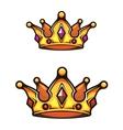 Vintage heraldic crown vector image vector image
