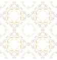 vintage seamless gold pattern victorian vector image