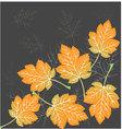 Beautiful leaves seamless vector image