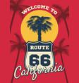 california beach seashore theme dream vector image vector image