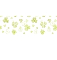 clover textile textured line art horizontal vector image