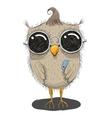 Cute Cartoon Owl vector image vector image