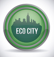 eco city design eps10 graphic vector image vector image