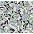 Soft color floral seamless pattern vector image vector image