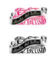 tattoo studio logo templates vector image vector image