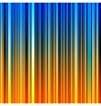 Abstract striped orange and blue background vector image vector image