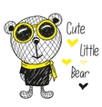 Cute Bears vector image vector image