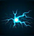 flash lighting concept background realistic style vector image
