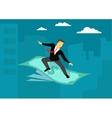 Money success wealth Concept business vector image vector image