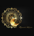 ramadan kareem luxury invitation design islamic vector image