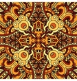 abstract ethnic indian autumn seamless pattern vector image