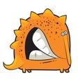 toy dinosaur grinding teeth vector image vector image