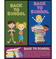 School Banner Set Part 2 vector image