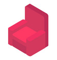 apartment furniture sofa relaxing place vector image
