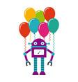 birthday party desig vector image vector image