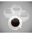 Coffee Infographic Templates for Business E vector image