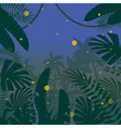 Jungle Flat Background17 vector image vector image