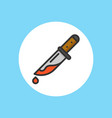 knife icon sign symbol vector image vector image