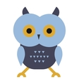 Owl wild bird cartoon vector image vector image