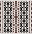 peruvian inca style fabric pattern vector image vector image