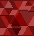 red abstract square background vector image vector image