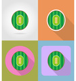 sport flat icons 51 vector image vector image