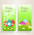 Template Easter background vector image vector image