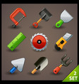 tools icon set-2 vector image