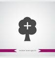 tree icon simple vector image