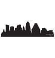 Austin texas skyline detailed silhouette vector | Price: 1 Credit (USD $1)