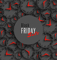 Black friday sale banner holiday season offer vector image vector image