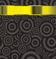 black modern wallpaper template with copyspace vector image vector image