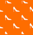 bride shoes pattern seamless vector image vector image