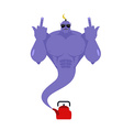 Genie bully from Red Kettle Bad Purple Magic vector image