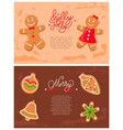 Holly jolly gingerbread cookies made ginger